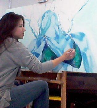 photo-marie-claude-fleury-artiste-peintre