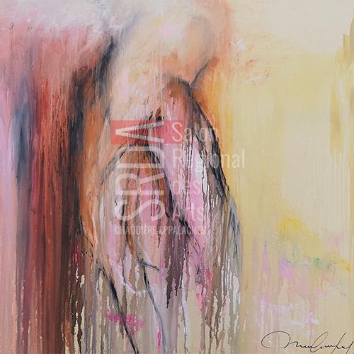 Marie-Claude Fleury - Émotion - 60 x 60 - 1440 $