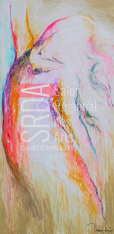 Marie-Claude Fleury - printemps - 30 x 60 - 1080 $