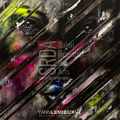 Yann Lemieux - Identity - 36 x 36 - 975 $