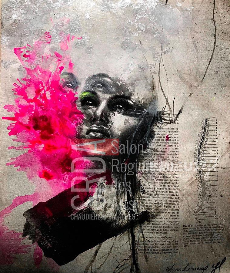 Yann Lemieux - Liberare - 13 X 16 - 300 $