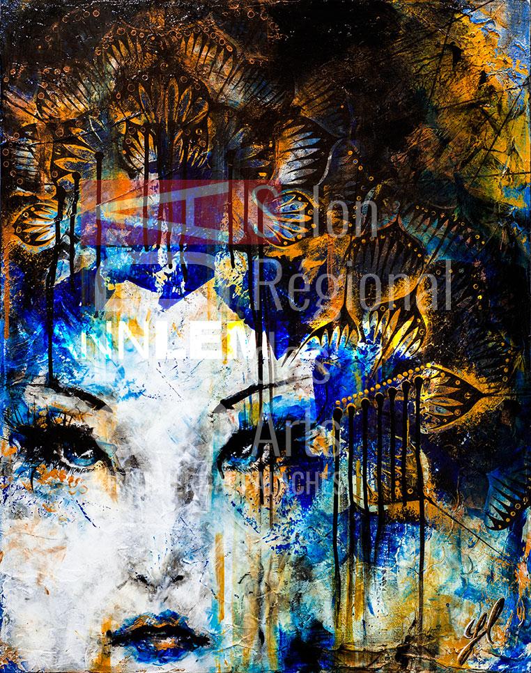 Yann Lemieux - Maiko III - 22 x 28 - 500 $