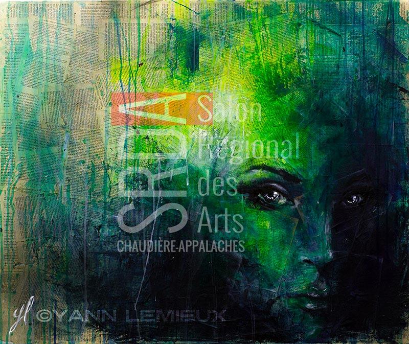 Yann Lemieux - Sofia - 36 x 30 - 800 $
