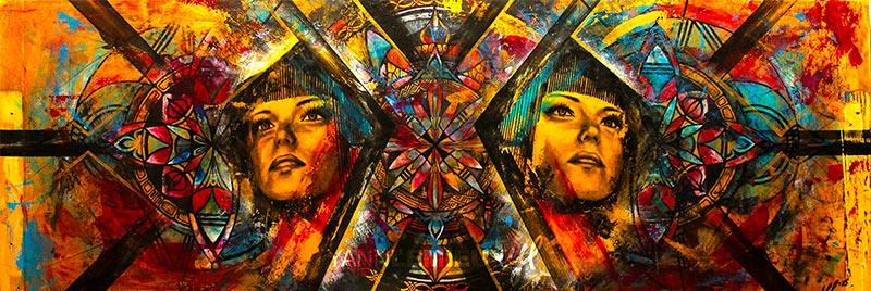 Yann Lemieux - Trinity - 16 x 56 - 700 $