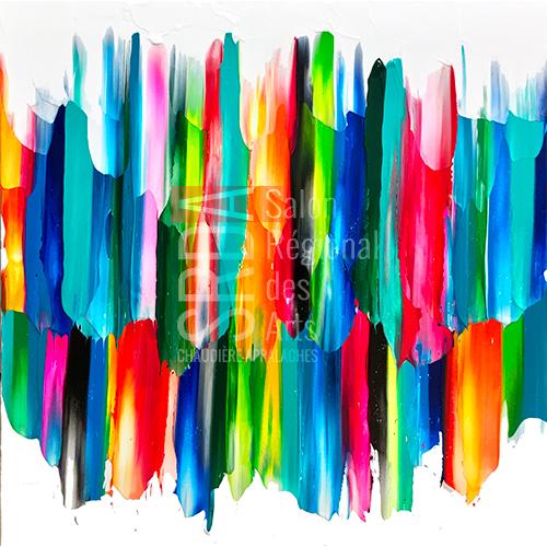 Hugo Landry - Rising - 30 x 30 - 1250 $
