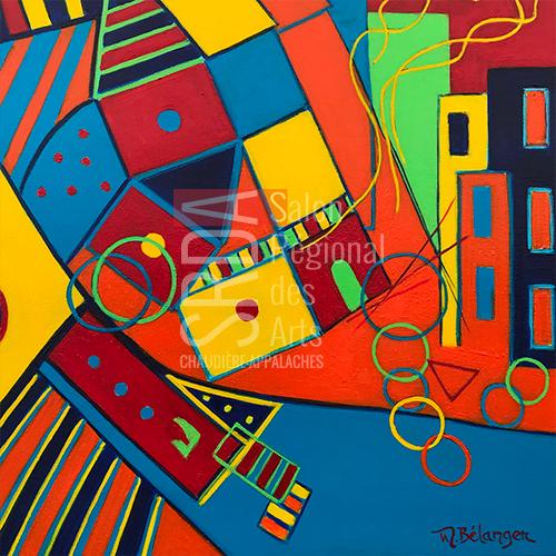 Marie Bélanger - Trouver son nid - 24 x 24 - 500 $