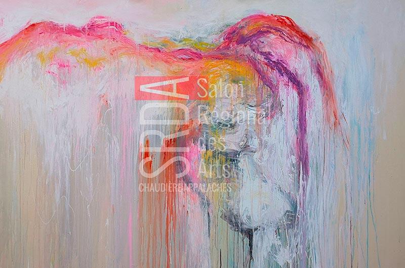 Marie-Claude Fleury - amoureuse - 48 x 72 - 1440 $