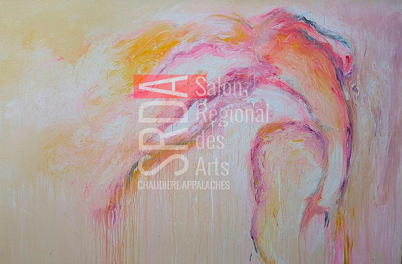 Marie-Claude Fleury - sensualité - 48 x 72 - 1440 $